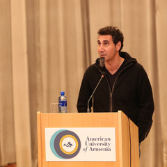 American University of Armenia Discussion With Serj Tankian