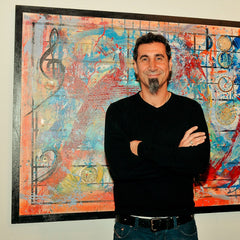 Nylon Guys Interviews Serj About His 'Disarming Time' Paintings
