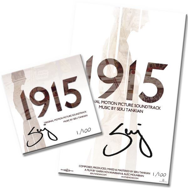 1915 Original Motion Picture Soundtrack Autographed Limited Edition Bundle