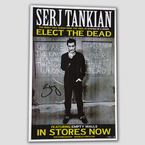 Elect The Dead Poster - Autographed
