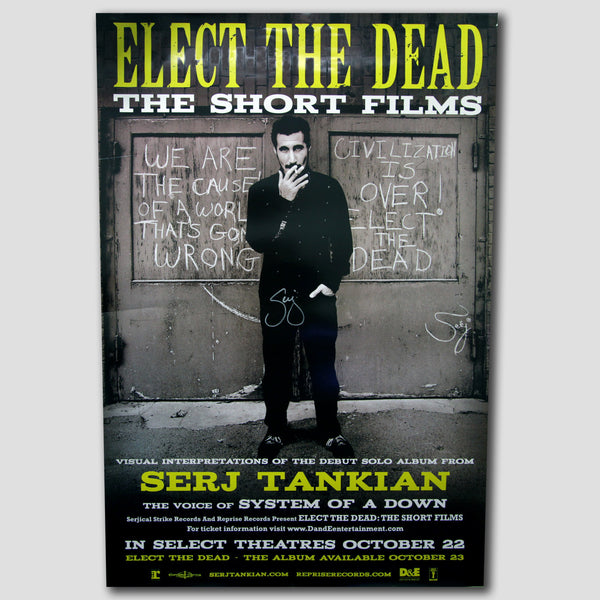 "Elect The Dead ""Short Films"" Movie Poster - Autographed"