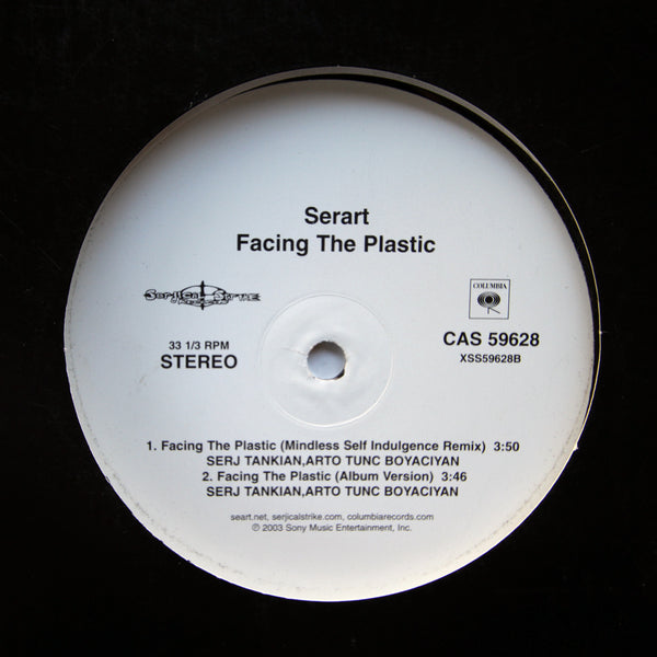 Serart - Narina / Facing The Plastic Remixes Vinyl