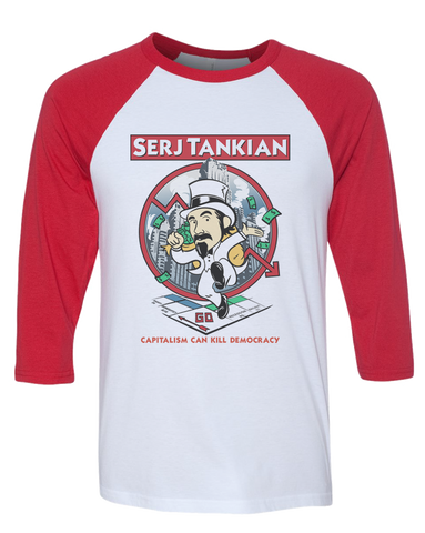 Men's | Serjopoly | 3/4 Sleeve Baseball Tee
