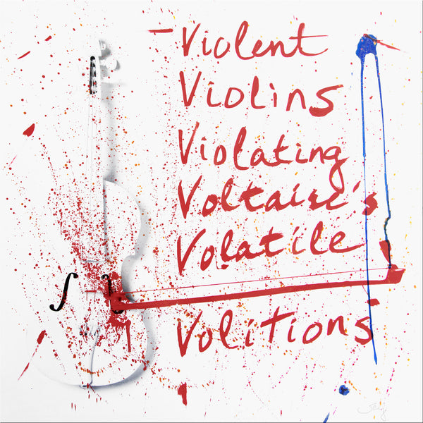Violent Violins Viola - Hand Painted Multiple - 2018 Limited Edition - Multicolor Version