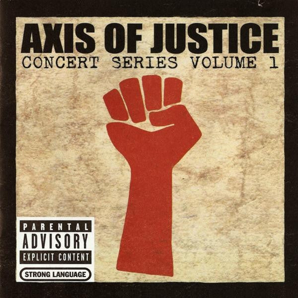 Axis Of Justice: Concert Series Vol. 1 CD/DVD