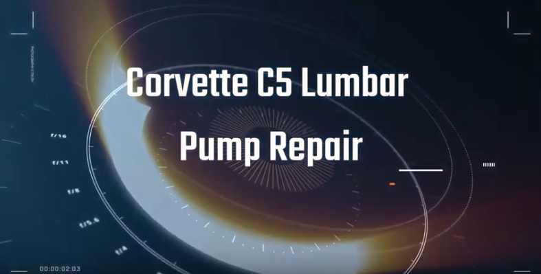 Lumbar Pump Repair, C5 Corvette