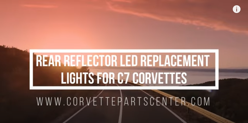 A Must Have C7 MOD! C7 Rear Reflector LED Lights