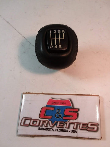6 Speed Shift Knob With Indicator, Used, 1997 - 2004 Corvette