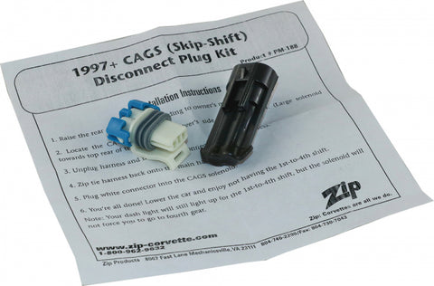 "Corvette CAGS, ""Skip Shift"", Plug Seal Set, Manual, 1997-2019"