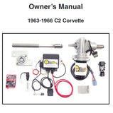 Electric Power Assisted Steering Kit, C2 Corvette, 1963-1966