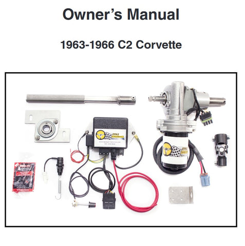 Electric Power Assisted Steering Kit, C2 Corvette, 1963