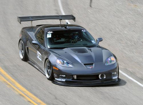 ZR1 Hood w/ Functional Louvered Insert, C6 Corvette Z06 / GS 2006-2013