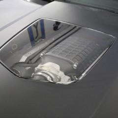 Polycarbonate Window Hood Insert, C6 Corvette 2005-2013