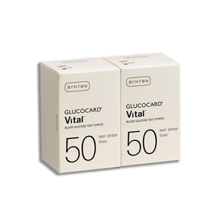 Arkray GlucoCard Vital Test Strips 100 count