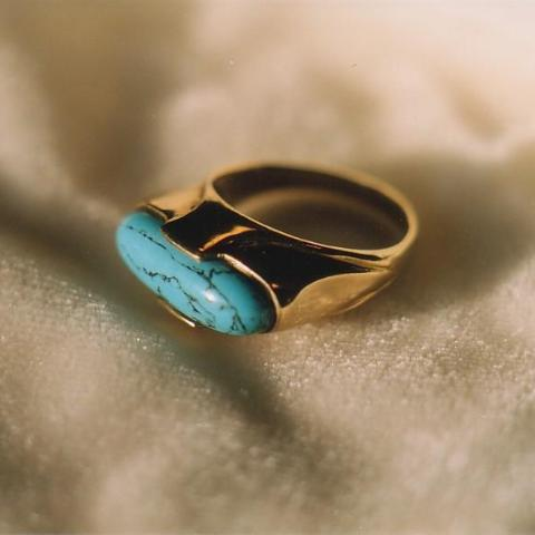Egyptian Ring in Gold or Silver