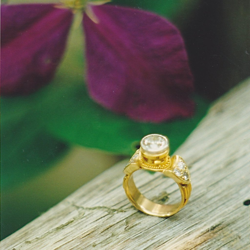 Engagement Rings--Individually designed and made in the metal of your choosing.