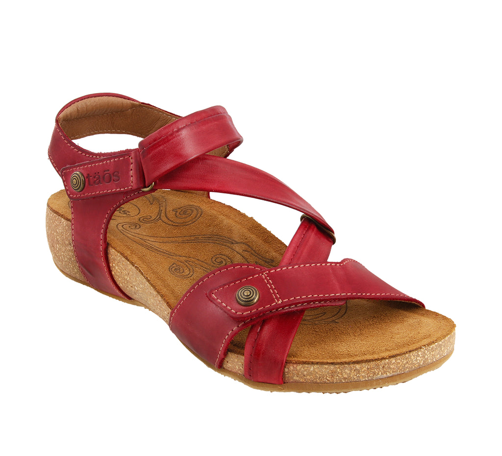 Universe-sandals-Taos Footwear-Red-US 5 (EU 36)-Taos Footwear Canada