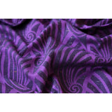 Bandolera Dandy Purple Black Tencel Confetti