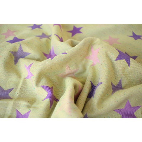 Bandolera Stars Ultra Purple Yellow Confetti