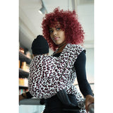 Fular Pussycat Puffy Black Red White Boucle