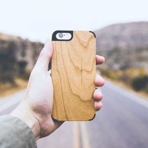 Edge Armor Series iPhone Wood Cases