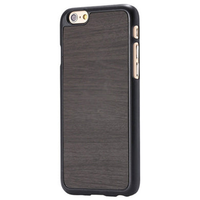 iPhone Slim Wood Finish Case - Black Brown - LUMBERCASE