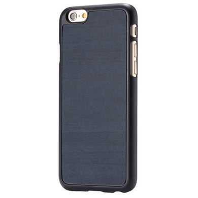 iPhone Slim Wood Finish Case - Dark Blue - LUMBERCASE