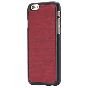iPhone Slim Wood Finish Case - Rosewood - LUMBERCASE