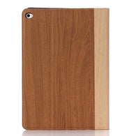 iPad Air 2 Wood Finish Flip Smart Case - Chestnut - LUMBERCASE