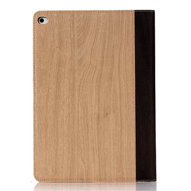 iPad Air 2 Wood Finish Flip Smart Case - Natural - LUMBERCASE