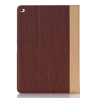 iPad Air 2 Wood Finish Flip Smart Case - Cherry - LUMBERCASE