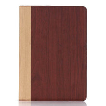 iPad mini Wood Finish Flip Smart Case - Cherry - LUMBERCASE