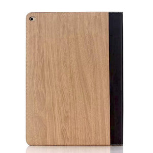 iPad Pro 12.9 Wood Finish Flip Smart Case - Natural - LUMBERCASE
