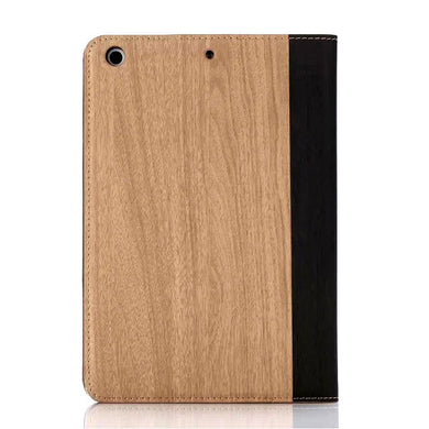 iPad mini Wood Finish Flip Smart Case - Natural - LUMBERCASE