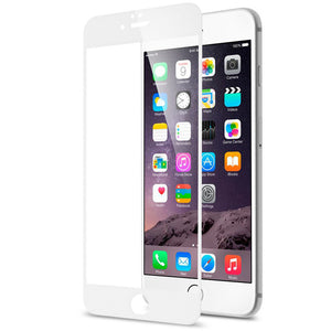 iPhone Full Screen Tempered Glass - White - LUMBERCASE