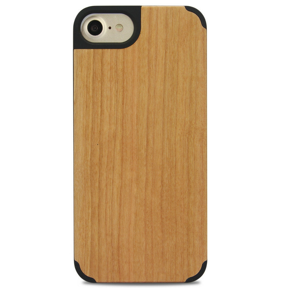 iPhone Edge Armor Wood Case - Chestnut - LUMBERCASE