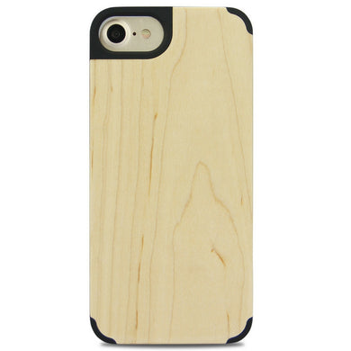 iPhone Edge Armor Wood Case - Maple - LUMBERCASE