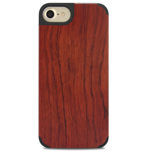 iPhone Edge Armor Wood Case - Rosewood - LUMBERCASE