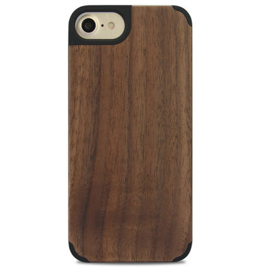 iPhone Edge Armor Wood Case - Walnut - LUMBERCASE