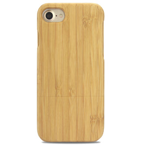 iPhone Full Body Wood Case - Bamboo - LUMBERCASE