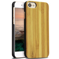 iPhone Slim Wood Case - Bamboo - LUMBERCASE