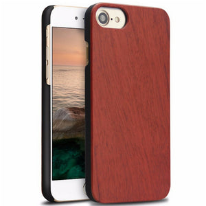 iPhone Slim Wood Case - Rosewood - LUMBERCASE
