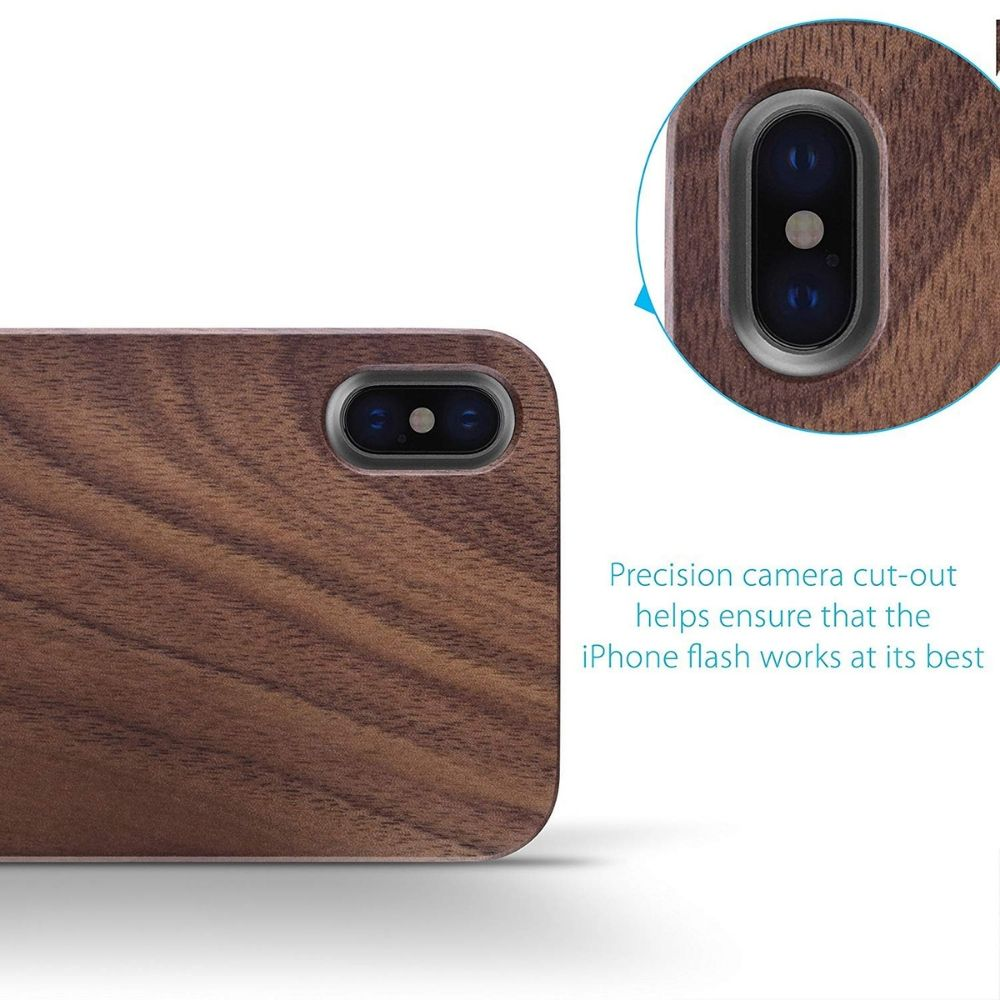 iPhone XS Max Slim Wood Case - LUMBERCASE