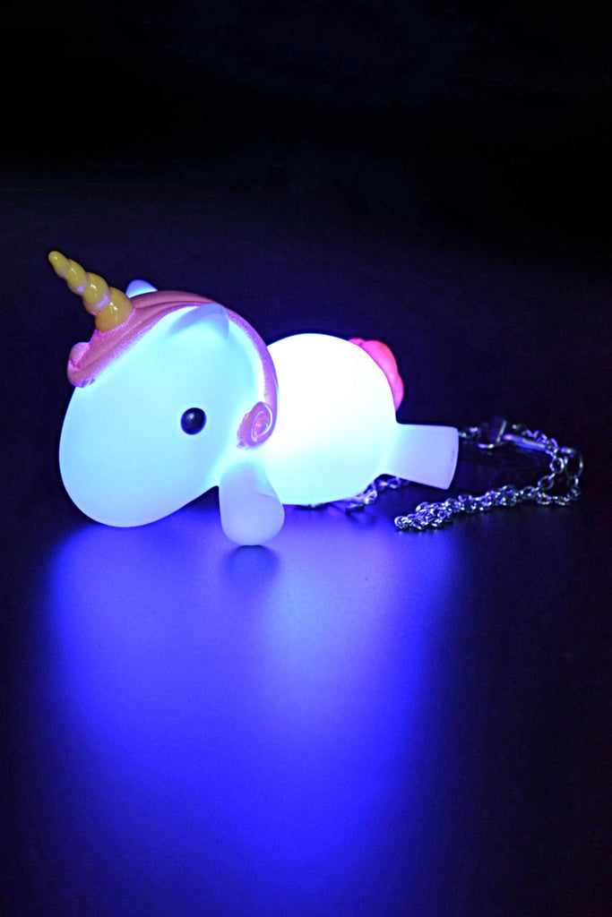 Unicorn Light Up Bath Plug