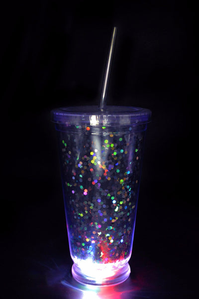 Glitter Light Up Tumbler