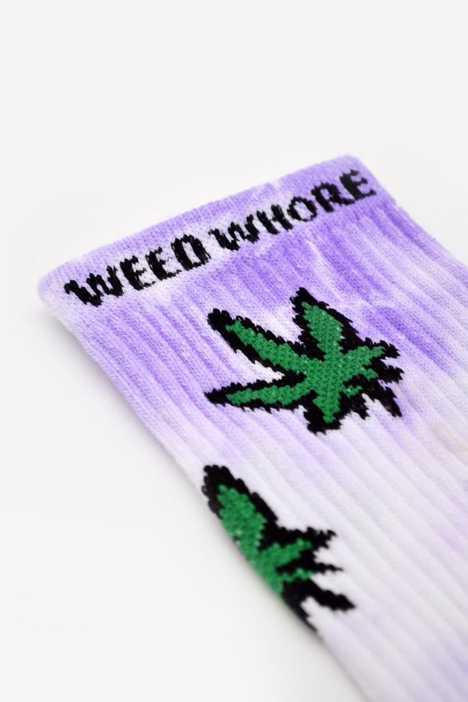 Purple Haze Tie Dye Socks