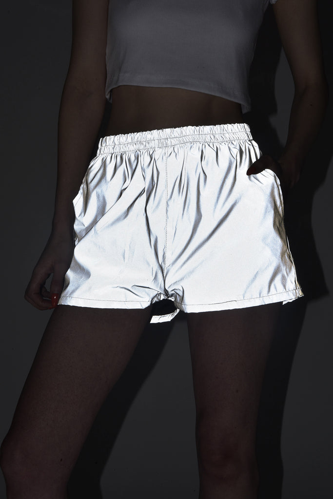 Reflective Shorts by Goodbye Bread