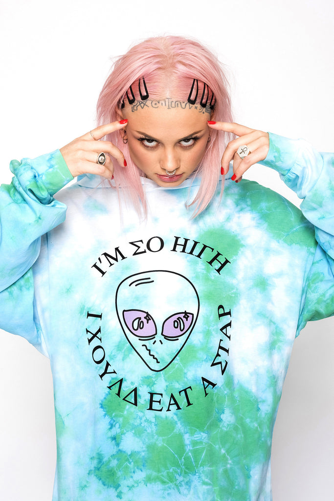 So High Tie Dye Light Hoodie
