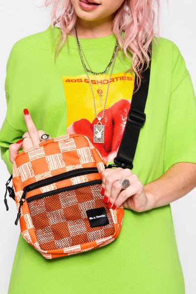 Checkerboard Side Bag