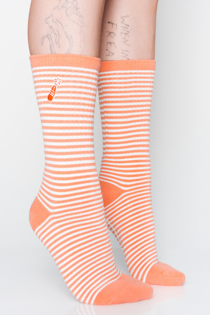 Westside Peach Socks